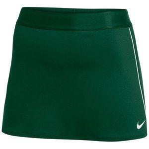 Green Nike tennis skirt